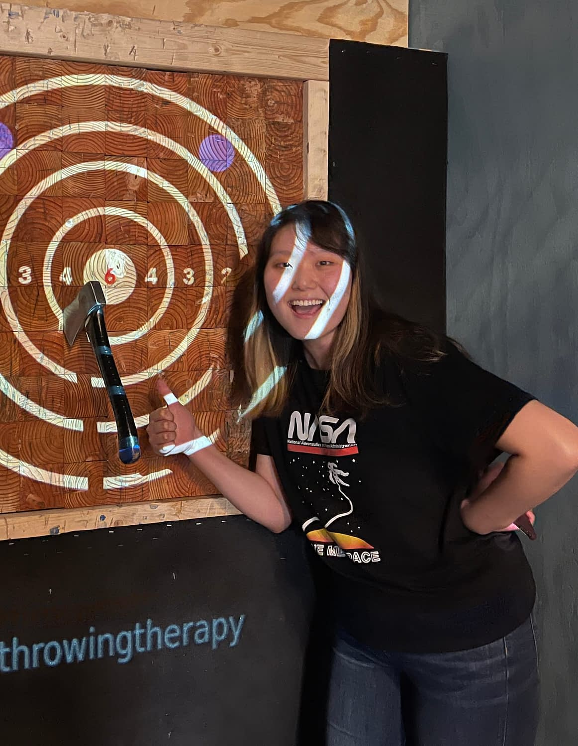 Axe Throwing Event