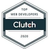 Top Web Developers awarded by Clutch