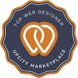 Top Web Designer awarded by Upcity